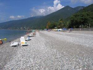 Отдых в Абхазии частный сектор на море Гагра пляж