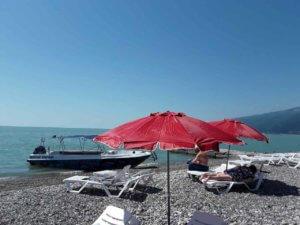 Отдых в Абхазии частный сектор Гагра гостевой дом у моря пляж