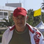 Хозяин гостевого дома на берегу моря в Гаграх Борис Юрьевич