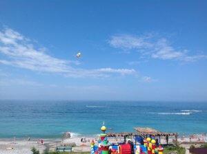 Абхазия частный сектор на берегу моря в Гаграх отдых без посредников