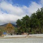 Гагра осенний пляж