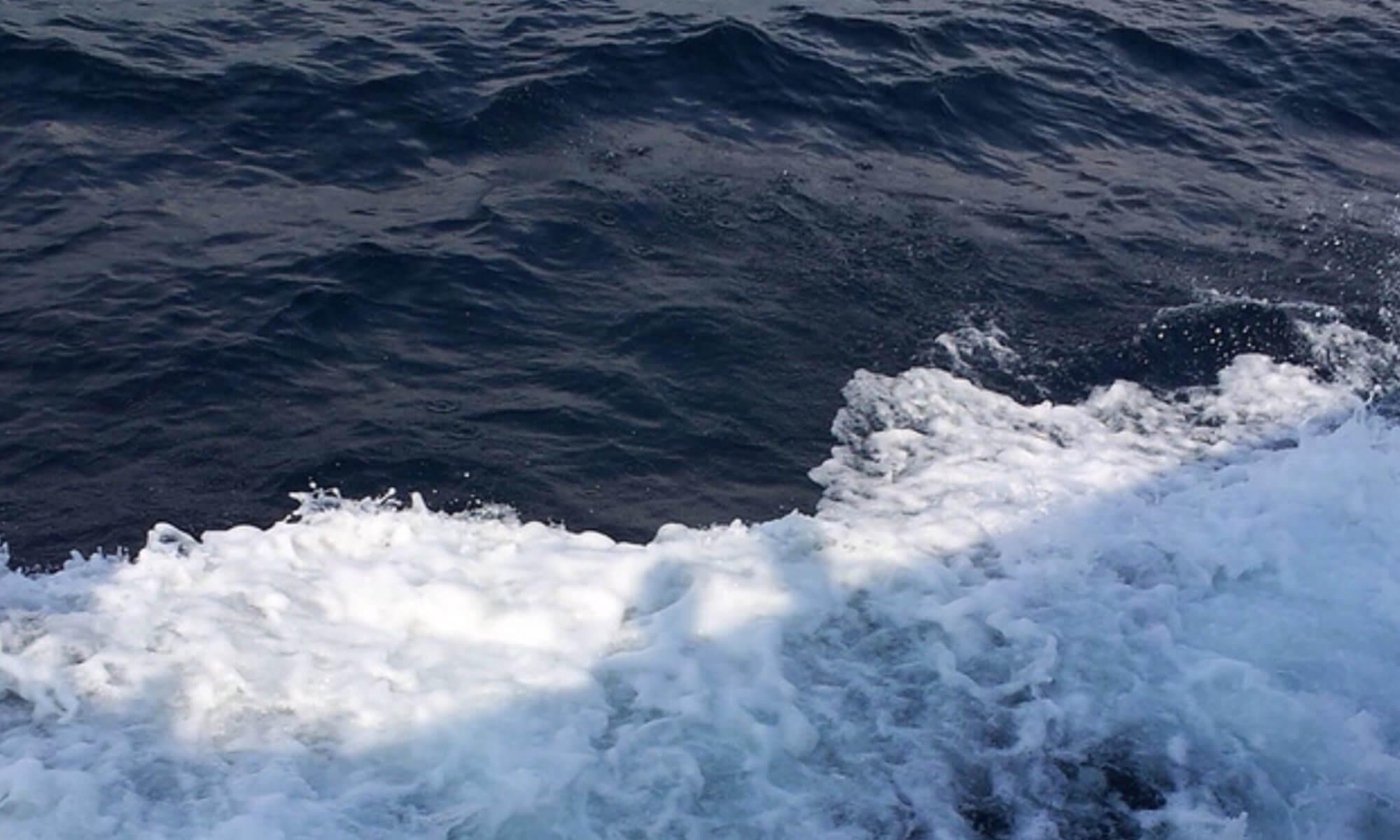 Красивое море в Гаграх