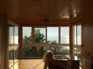 Гостевой дом на берегу моря в Гаграх