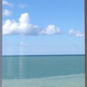 Наше красивое море в Гаграх