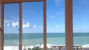 Абхазия отдых эконом вариант жилье у моря в Гаграх