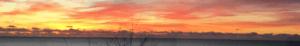 Гагра вечернее небо
