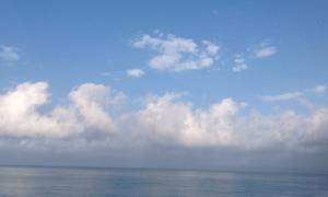Абхазия Гагра море и небо